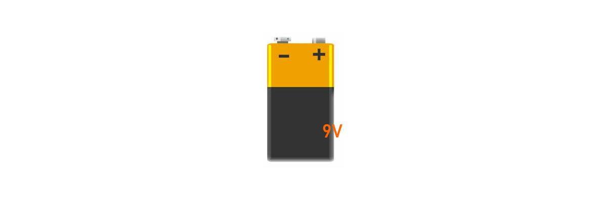 9V - Block