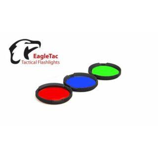 EagleTac RGB Kit für Taschenlampe M3C4 Farbfilter