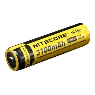 Nitecore Akku 18650 IC Protected 3100 mAh
