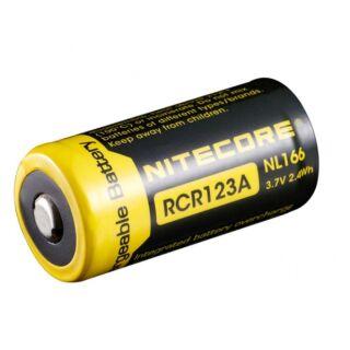 Nitecore Akku 16340 RCR123 IC Protected 650 mAh