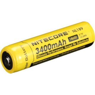 Nitecore Akku 18650 IC Protected 3400 mAh NL189