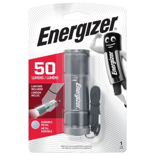 Energizer 3x LED Metal Light exkl. 3x AAA