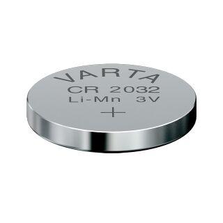 Varta Lithium-Knopfzellen 2032 3V 200er Bulk