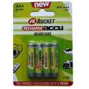 Rocket HR3-850-R2U Akku AAA Micro Ready to use 850 mAh...