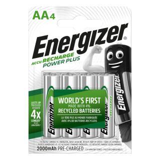 Energizer Powerplus Akku AA Mignon 2000 mAh 4 Stück