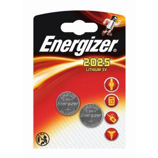 Energizer Lithium LD CR 2025 3V - 2er Maxiblister