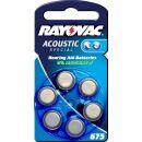 Rayovac Acoustic V675 blau Hörgerätebatterie -...