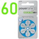 Powerone Hörgerätebatterie PO 675 blau - 10 x 6...