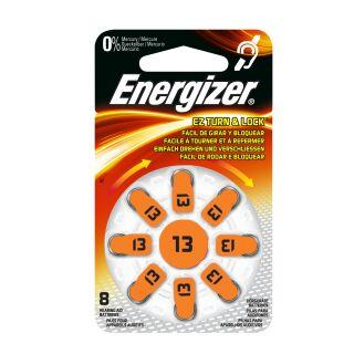 Energizer Hörgerätebatterie AC13 orange - 6 x 8 St (48 Stück)