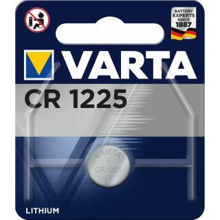 Varta Lithium Knopfzelle CR 1225 3V - 1er Blister