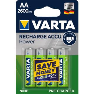 Varta Accu Rechargeable 5716 HR 6-AA-Mignon 2600 mAH Ready2Use 4er Blister