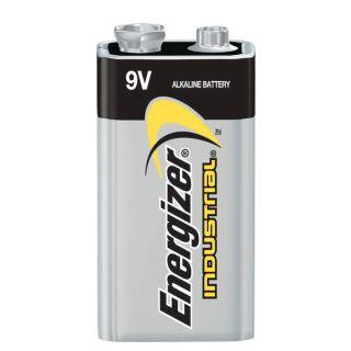 Energizer Industrial Alkaline 6LR61 EN22-9V-E-Block für Rauchmelder Hochleistungsbatterie