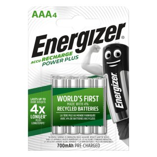 Energizer Powerplus Precharged HR03-AAA-Micro 700 mAH - 4er Blister / 12 Blister in VKE