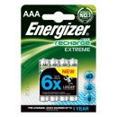 Energizer R2U Extreme HR03-AAA-Micro 800 maH - 4er Blister