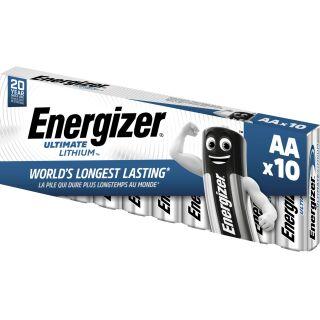Energizer Ultimate Lithium L91AA Mignon Li-FeS2 - 10er Pack