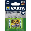 Varta 4er Pack Longlife Akku AA / Mignon 2100 mAH Ready2Use