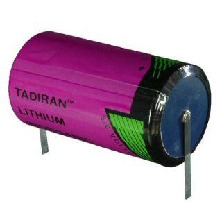 Tadiran SL- 2780/T ER-D Lithium-Thionyl  3,6V - mit U-Fahne