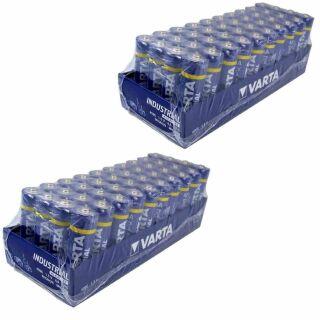 Varta 80er Pack Industrial Alkaline AA / Mignon / 4006 Vorteilspack