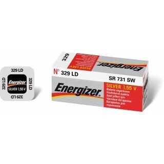 Energizer LD Uhrenbatterie 329-SR731SW - 10er Pack