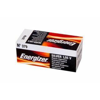 Energizer LD Uhrenbatterie 379-SR63-SR521SW - 10er Pack