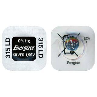 Energizer LD Uhrenbatterie 315-SR67-SR716SW - 10er Pack