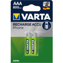 Varta 3 x 2er Pack Phone Power T398 AAA Micro 800 mAh...