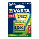 8 STÜCK Varta Accu Rechargeable 5703 HR 3-AAA-Micro...