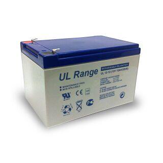 Akku 12 V 12 Ah Batterie AGM USV RBC Solar Notstrom VdS zugelassen - 2er Set