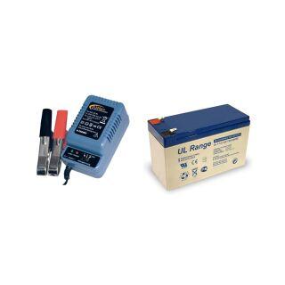 Akku 7AH 12V AGM Blei Gel Batterie USV UPS Systeme MODELLBAU 7Ah 12-Volt
