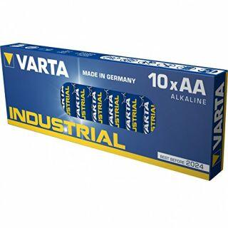 Varta Industrial Alkaline 4006-LR6-E91-AA-Mignon 10er Pack