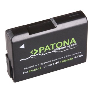 Qualitätsakku kompatibel zu EN-EL14 Nikon Li-Ion für D5000er Serie