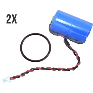 2er Set InfinioO Protect M Lithium Batterie ER14250M 3,6V für DOM Protector Schließzylinder/Schließanlage