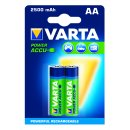 Varta 2er Pack Power Akku AA / Mignon 2500 mAh