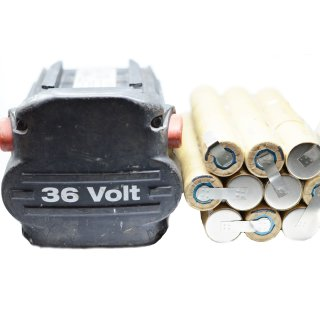 Ersatzakkupack für Hilti B36 BP6/86 36 V mit 3,0 Ah Panasonic/Grepow Premium Zellen hochstromfest