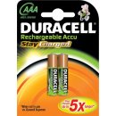 Duracell 2er Pack Akku StayCharged AAA / Micro NiMH 800...