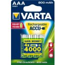 Varta 4er Pack LongLife Akku AAA / Micro 800 mAH Ready2Use