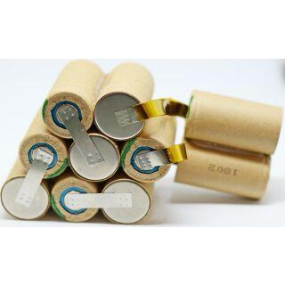 Ersatzakkupack für Hilti BP12 - 12 V mit 3,0 Ah Panasonic Premium Zellen hochstromfest zum Selbsteinbau