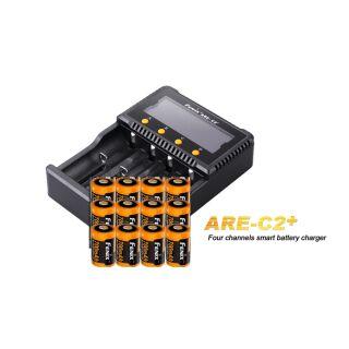 Fenix Schnelladegerät ARE-C2+ inklusive 12x Fenix ARB-L16-700 Akku für ARLO-CAM