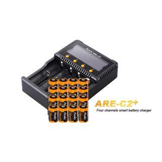 Fenix Schnelladegerät ARE-C2+ inklusive 16x Fenix ARB-L16-700 Akku für ARLO-CAM