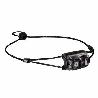 Petzl BINDI E102AA00 schwarz ultrakompakte Stirnlampe mit 3 Leuchtstufen und Rotlicht für Jogging Outdoor