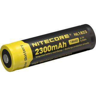 Nitecore NL183 (NL1823) 18650 3.7V 2300mAh Spezialakku für Taschenlampen mit PCB