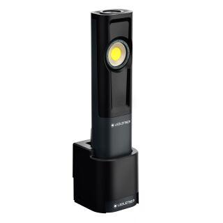 LED LENSER Taschenlampe iW7R Werkstattlampe Diagnoseleuchte mit Ladestation