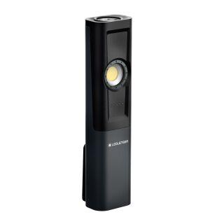 LED LENSER Taschenlampe iW5R Werkstattleuchte Diagnoseleuchte mit bis zu 600 Lumen