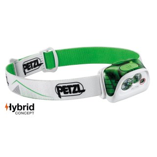 Petzl Kopfleuchte ACTIK E99ABB Farbe Grün mit 350 Lumen neue Version