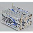 Energizer Batteriepack 3S2P Ultimate Lithium AA 4,5V Einwegbatteriepack mit Lötfahnen