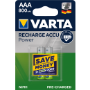 Varta 2er Pack Akku AAA / Micro 800 mAH Ready2Use