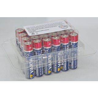 VARTA LONGLIFE Maxpower Batterie AAA LR03 Micro Alkaline Batterien in praktischer akkupilot® Batteriebox