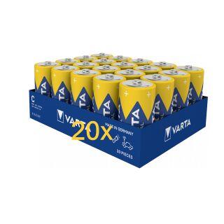 VARTA PRO Batterien für Jablotron JA-80 Funksirene BH-80A / Batterieträger 20er Vorratspack