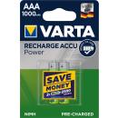 Varta 2er Pack Professional AAA / Micro 1000 mAH