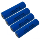 akkupilot Infinio Pro Solar Akku 14500/14505 AA Lifepo4...